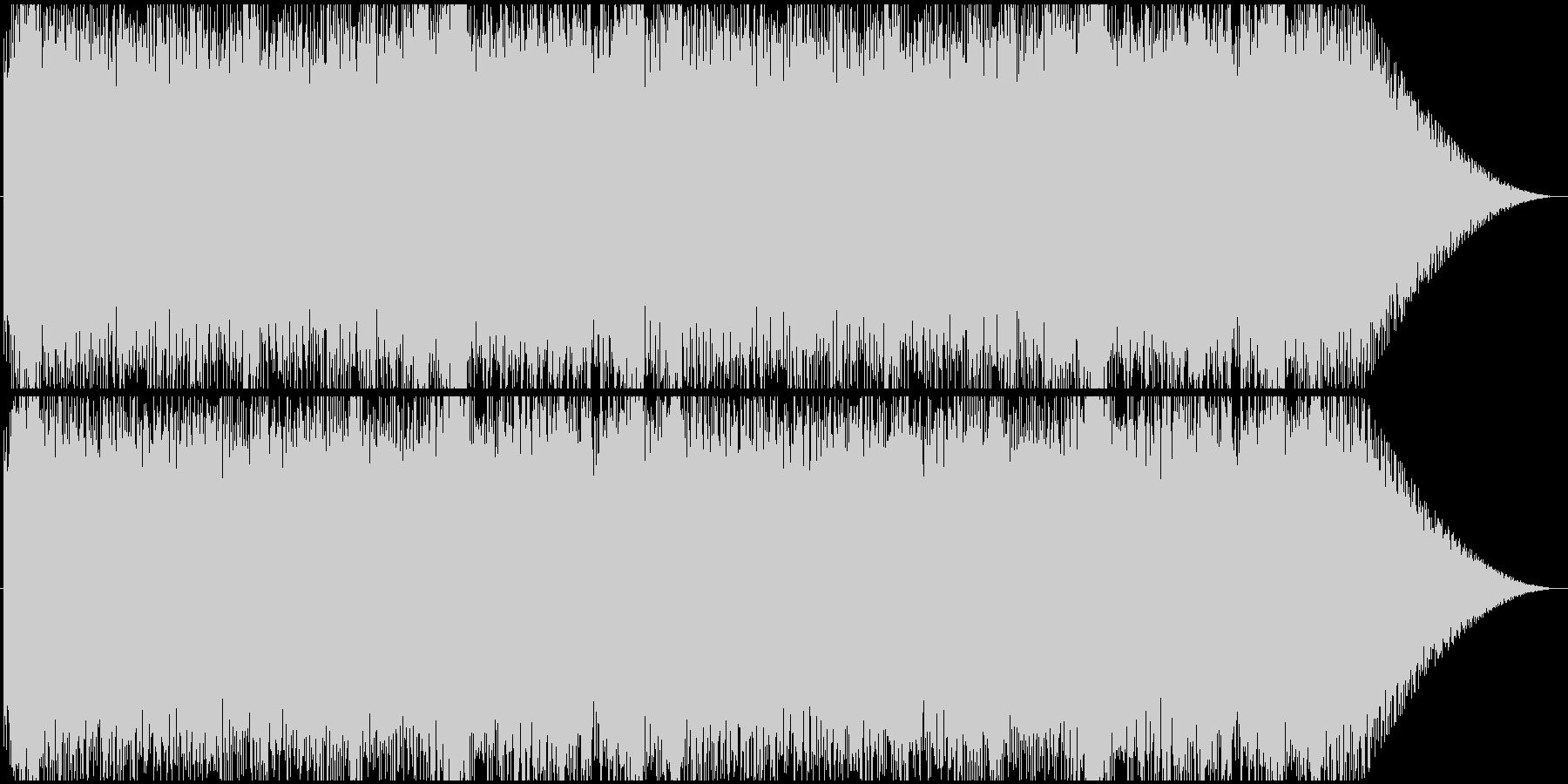 スピード感のあるエレクトロダンスロックの未再生の波形