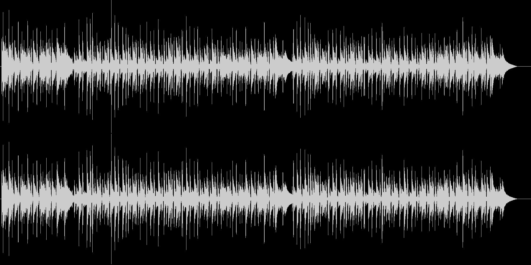 ニヒルでクールなボサノバギター 秋ジャズの未再生の波形