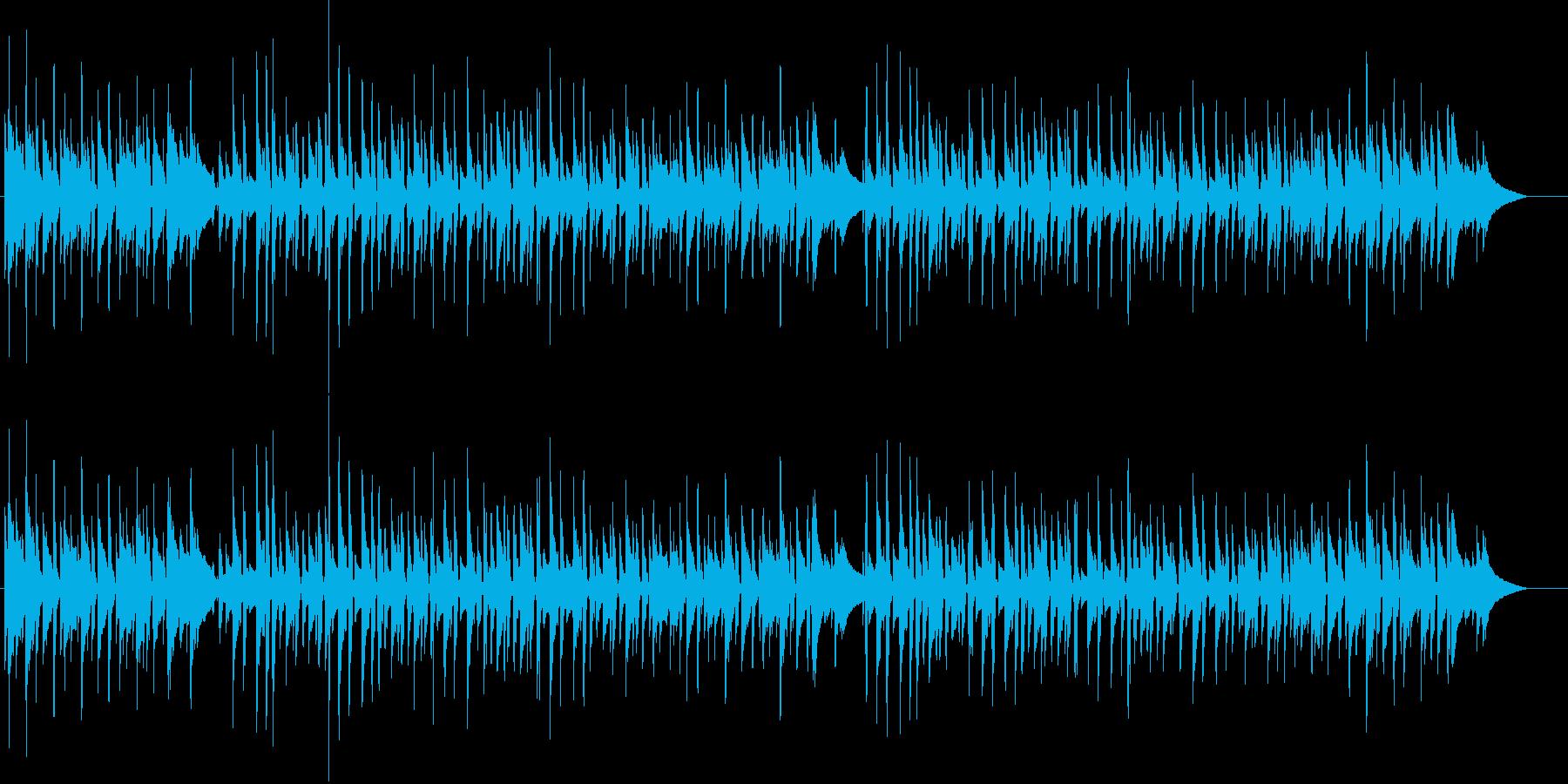 ニヒルでクールなボサノバギター 秋ジャズの再生済みの波形