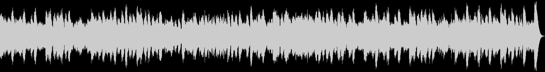 ミステリアスなオルゴール館のイメージで…の未再生の波形