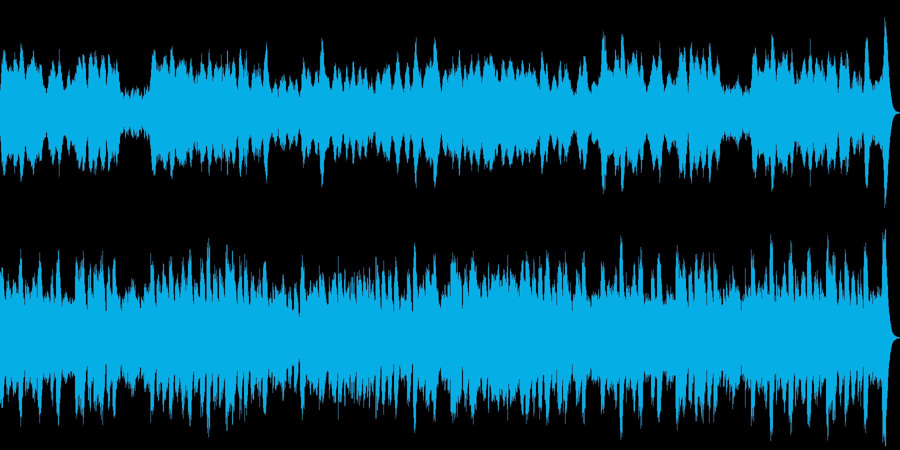 ミステリアスなオルゴール館のイメージで…の再生済みの波形