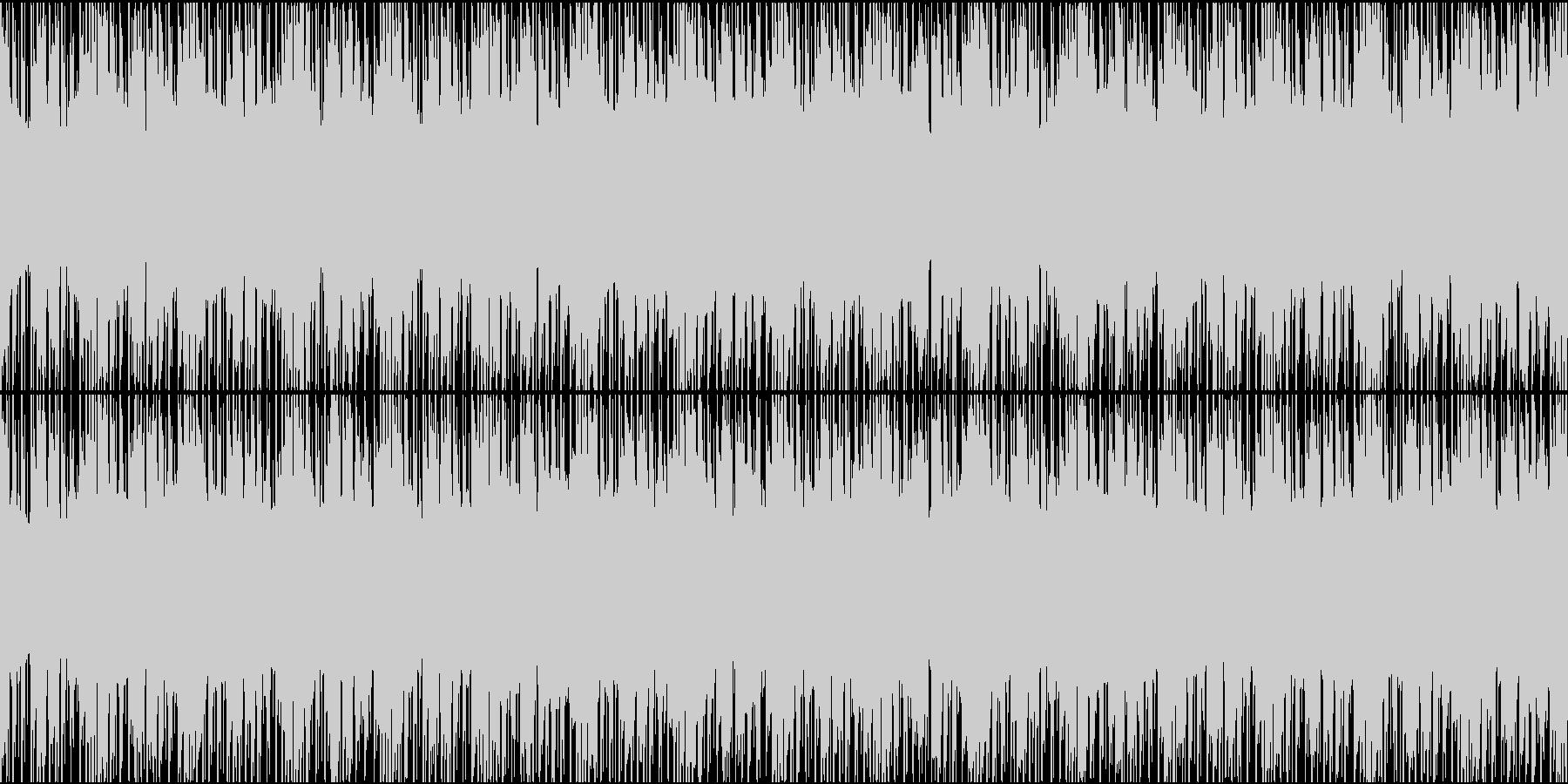 相談や議論のシーンに合いそうなループ曲の未再生の波形