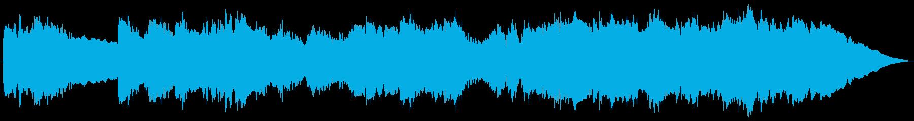 アメリカ国歌 星条旗 エレキギターの再生済みの波形