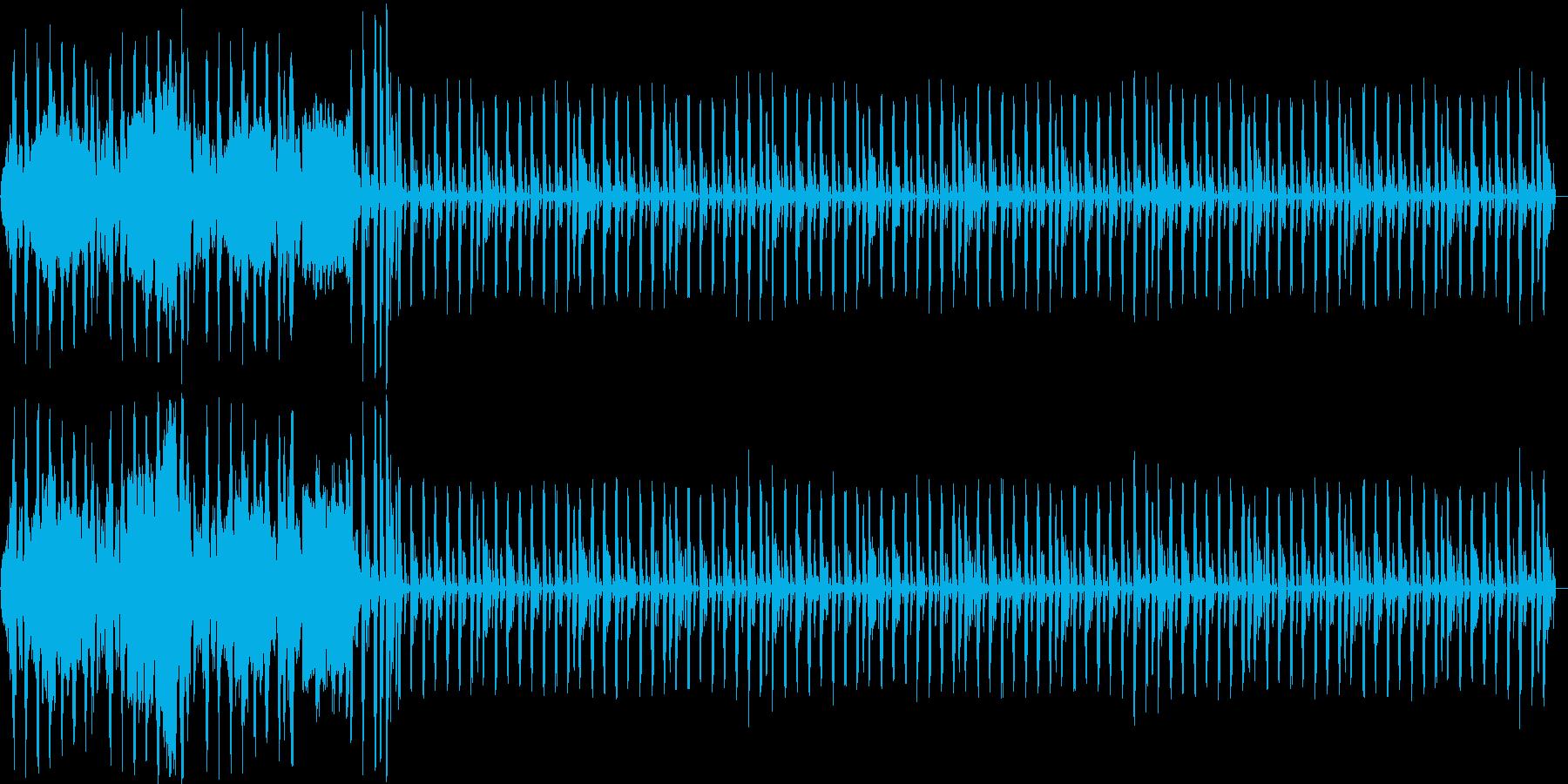 ラジオ用の明るいジングルです。の再生済みの波形