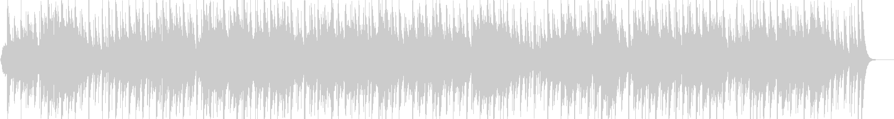 アラビア風の雰囲気のBGM2の未再生の波形