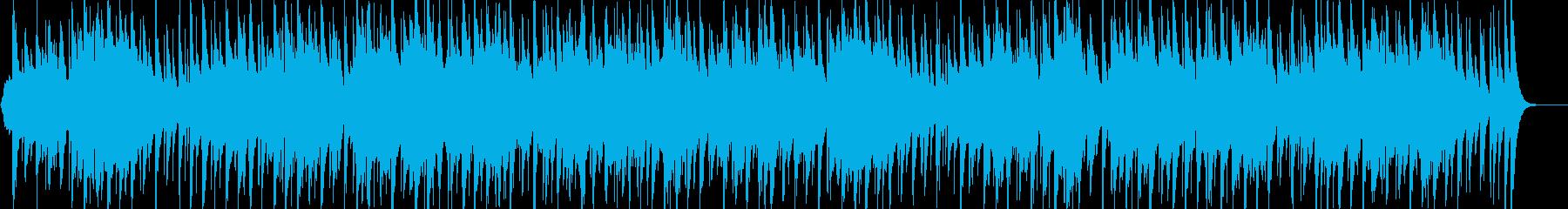 アラビア風の雰囲気のBGM2の再生済みの波形