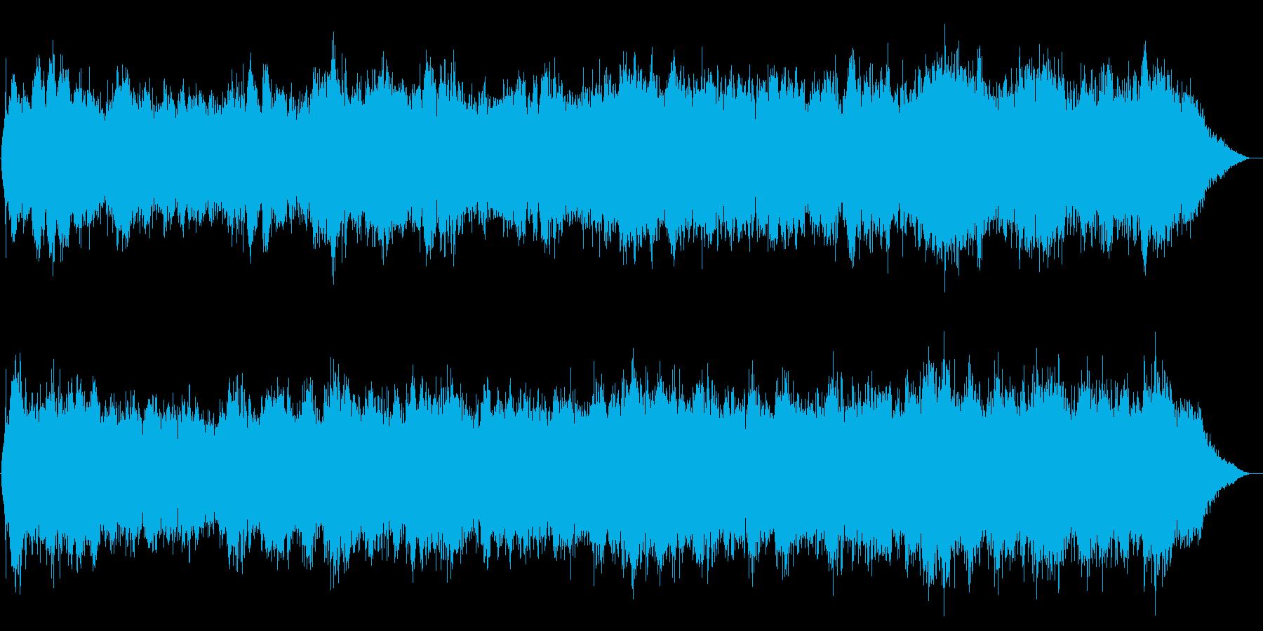 恐怖系サウンドです。の再生済みの波形