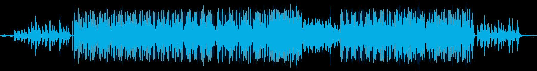 自然をテーマにした映像向け音楽の再生済みの波形