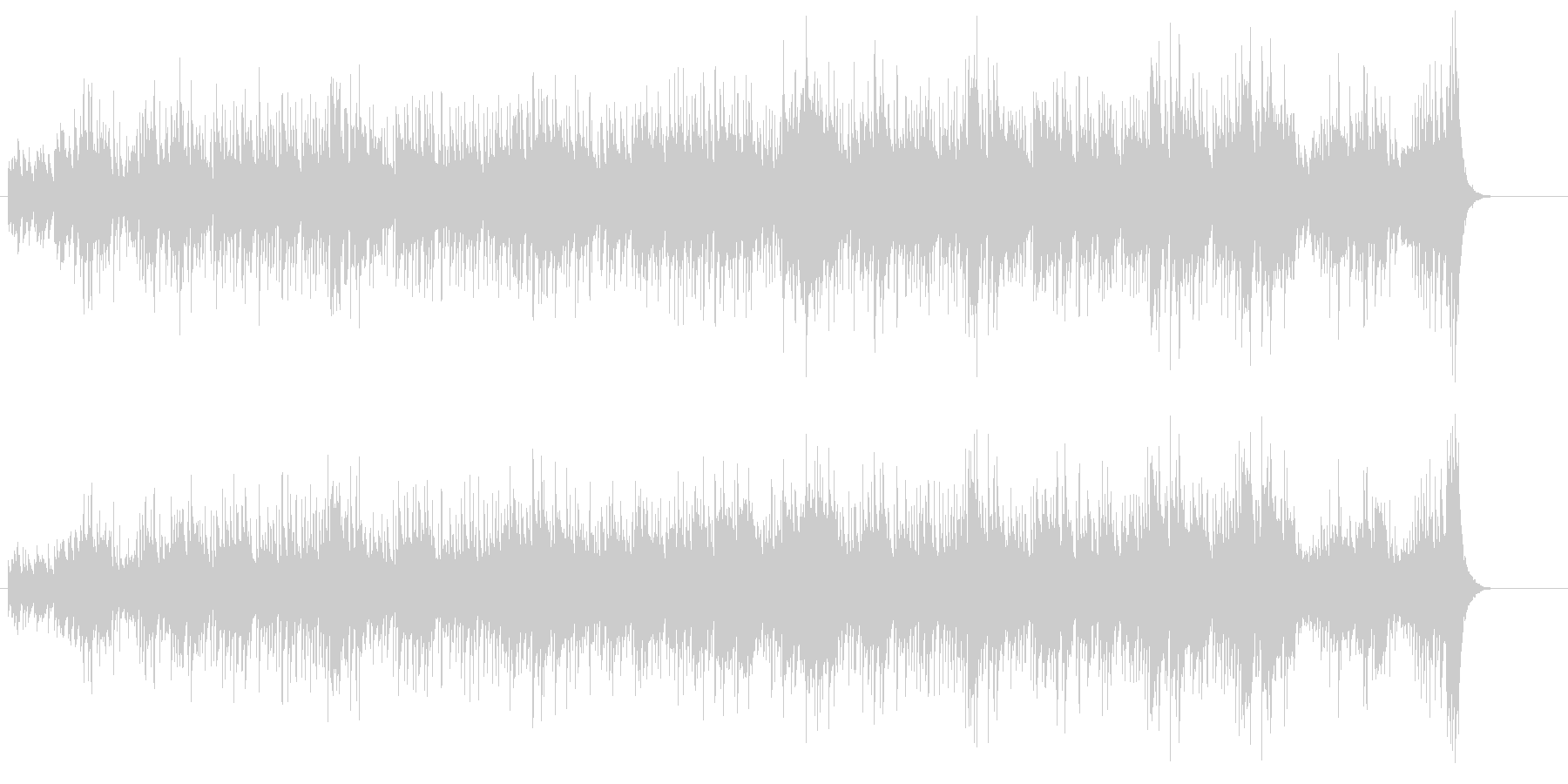 マリンバ・アンサンブル(中南米の清い風)の未再生の波形