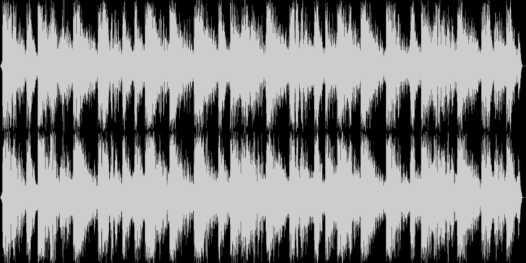 ハウスチューンな音源の未再生の波形