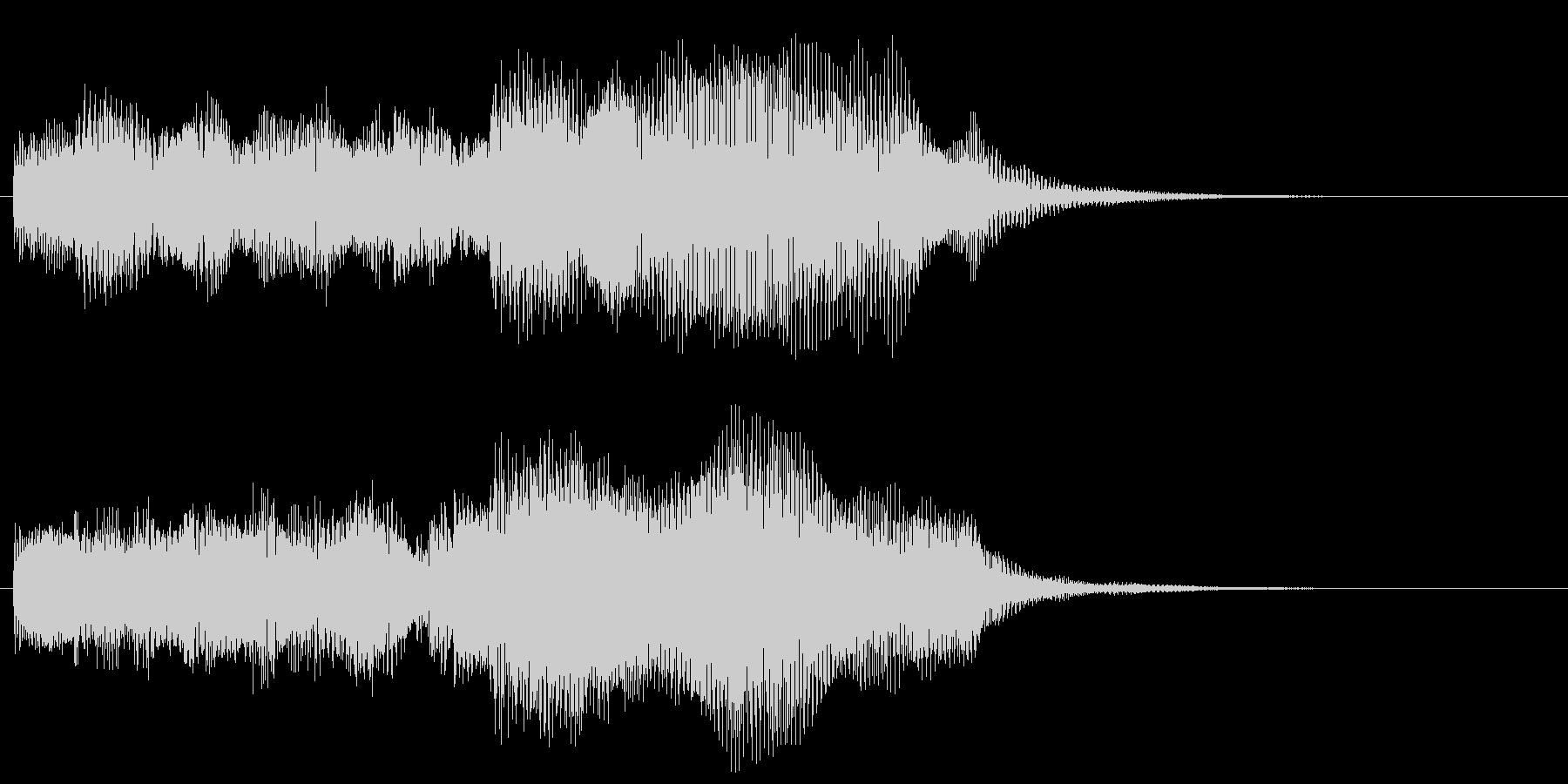 クリア レベルアップ 達成 ソフト版の未再生の波形