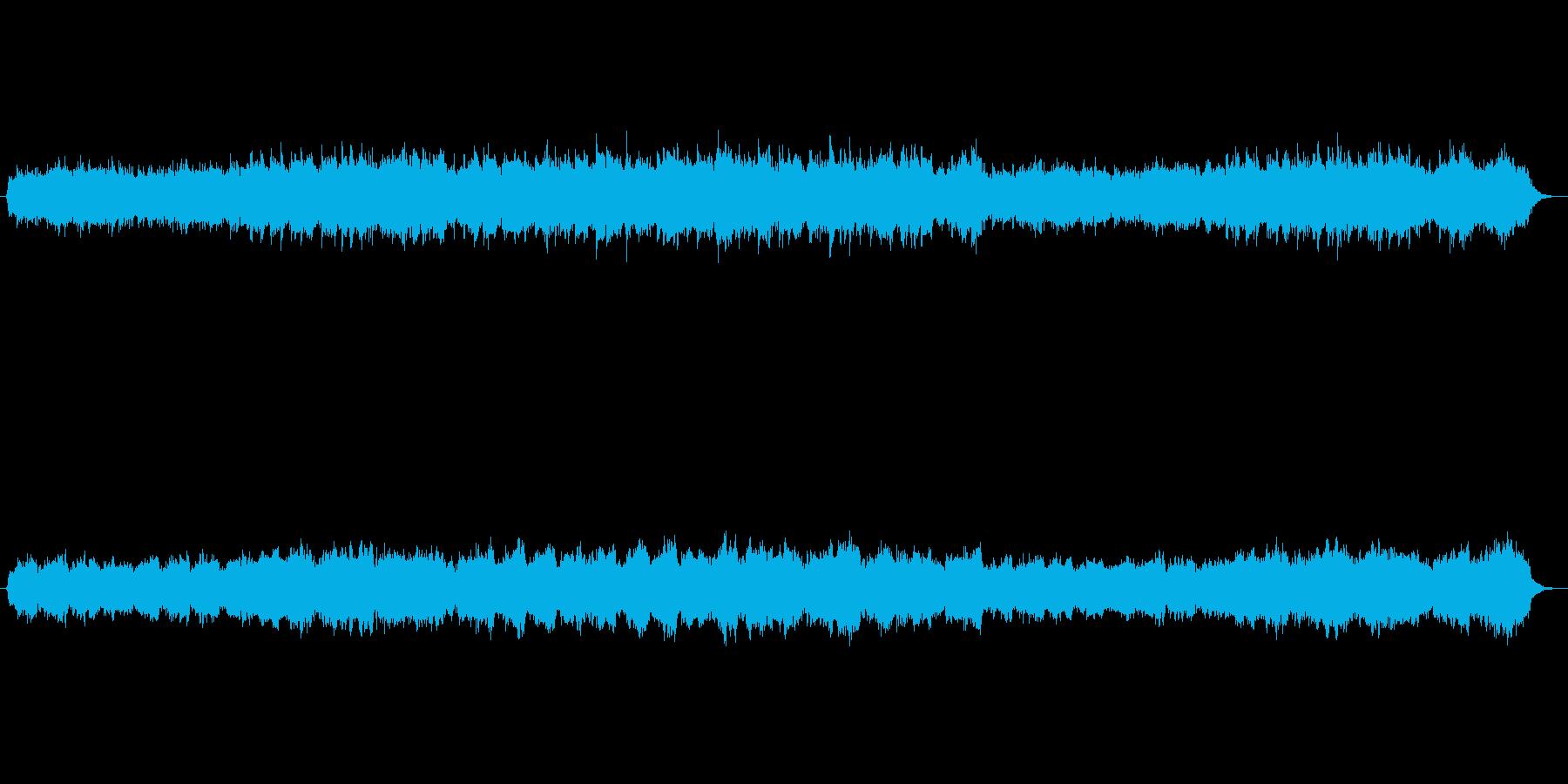 映画のワンシーンのようなオーケストラの再生済みの波形