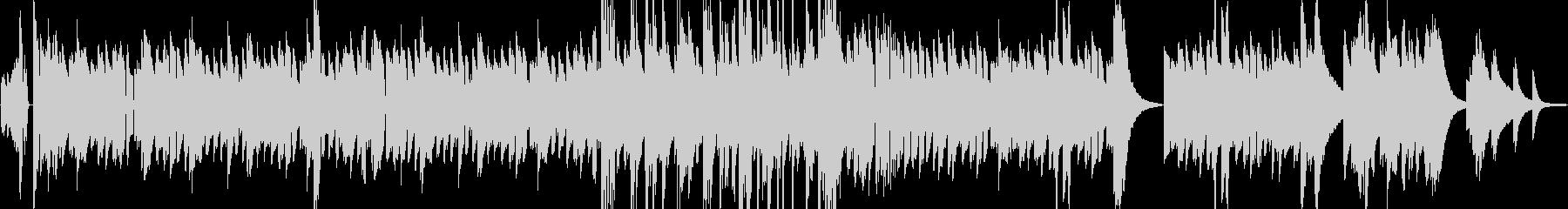オシャレなブルース ビンテージピアノ曲の未再生の波形