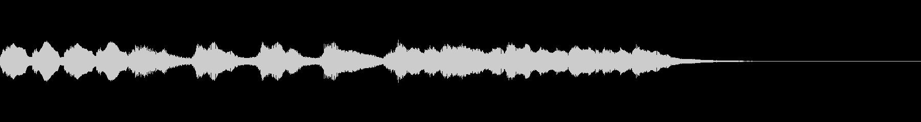 中国/中華風メロディ/BGM01の未再生の波形