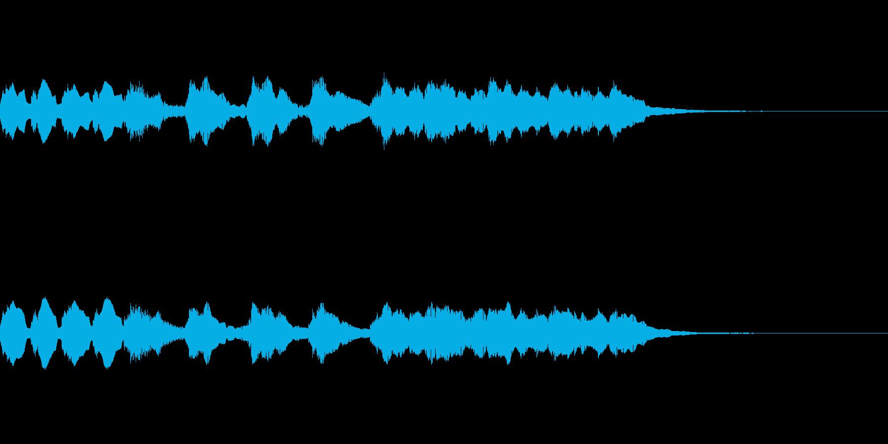 中国/中華風メロディ/BGM01の再生済みの波形