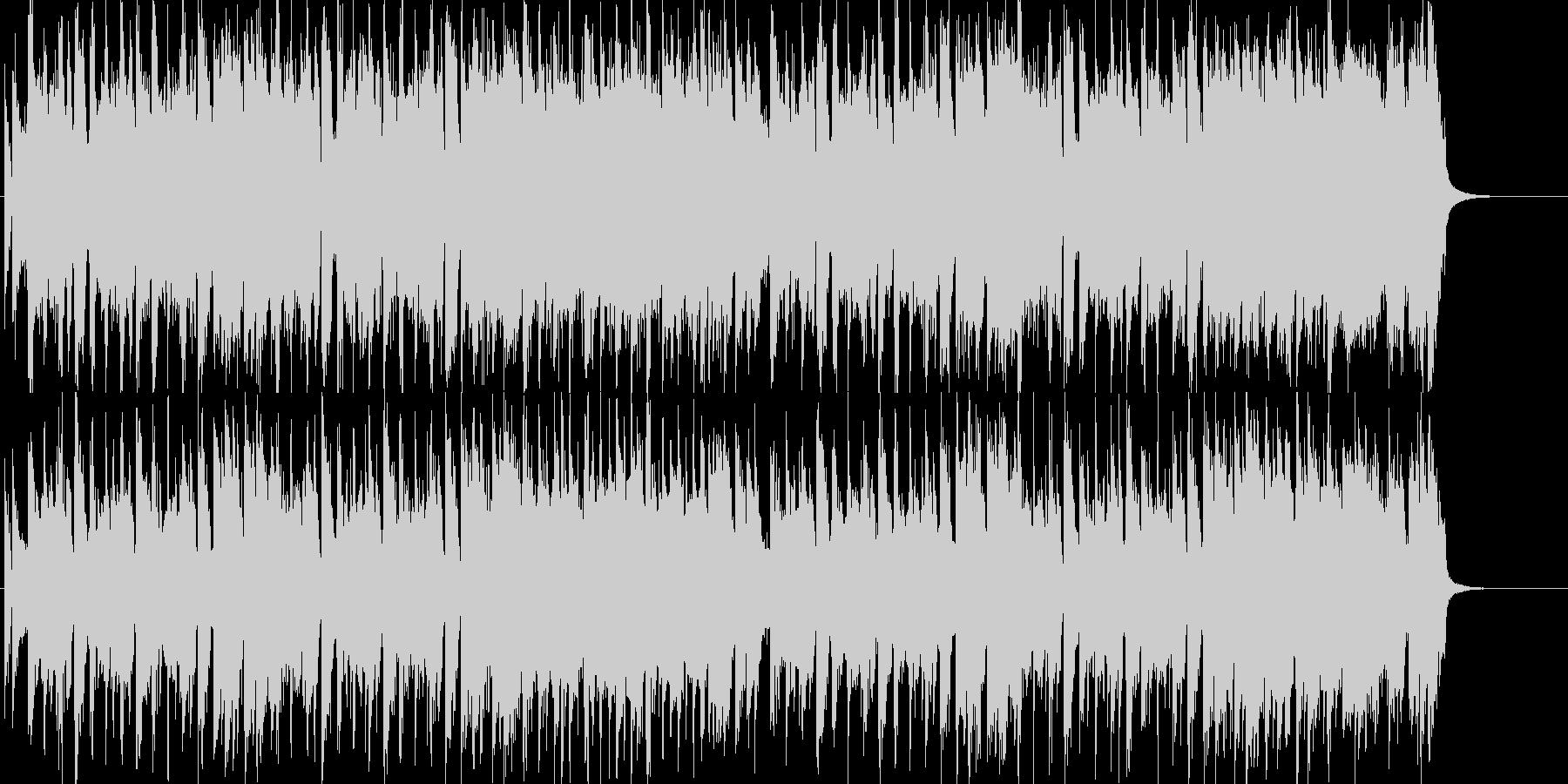 「男」を感じる躍動的なワイルドロックの未再生の波形