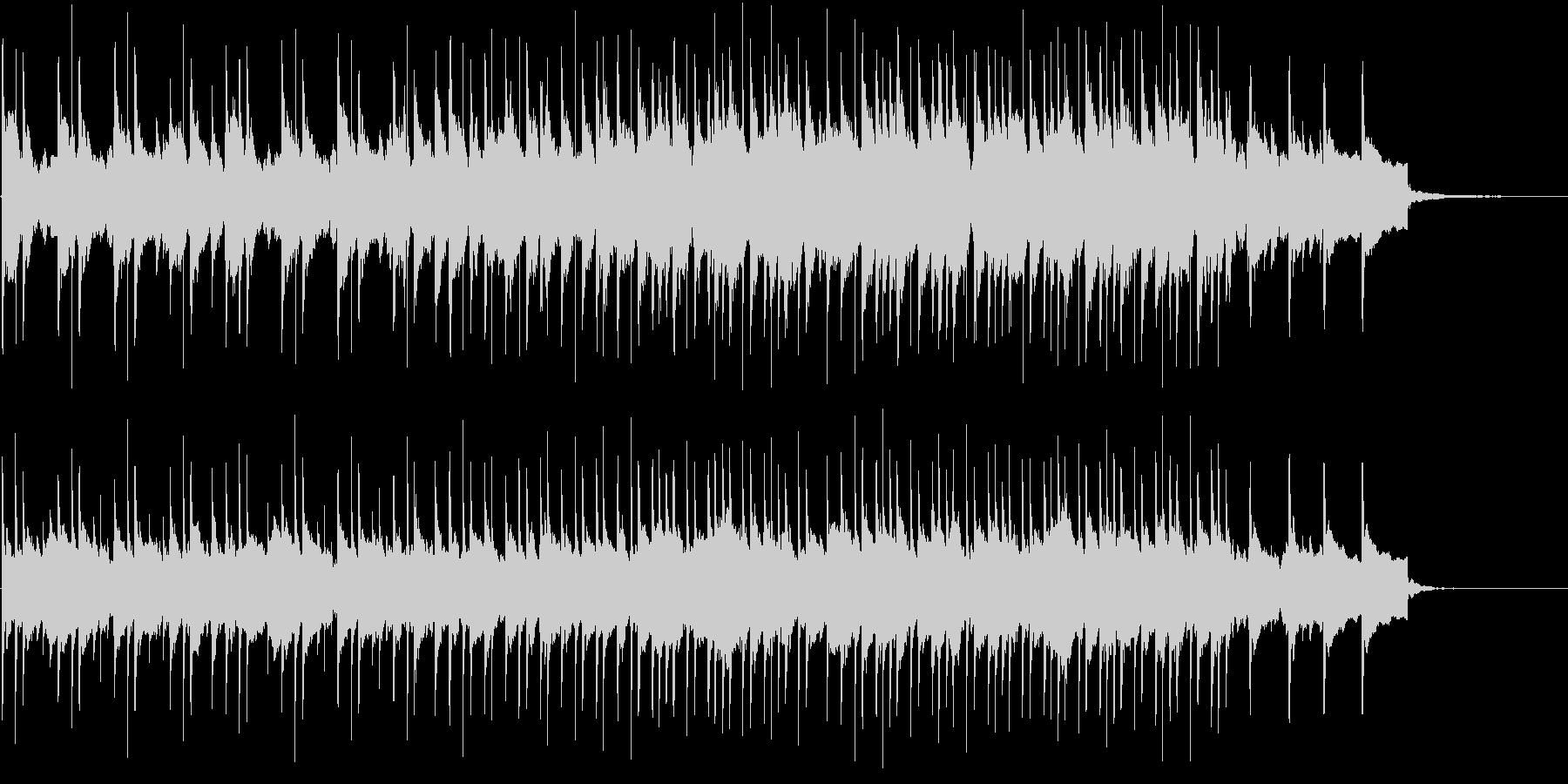民族音楽っぽいBGM(H)の未再生の波形