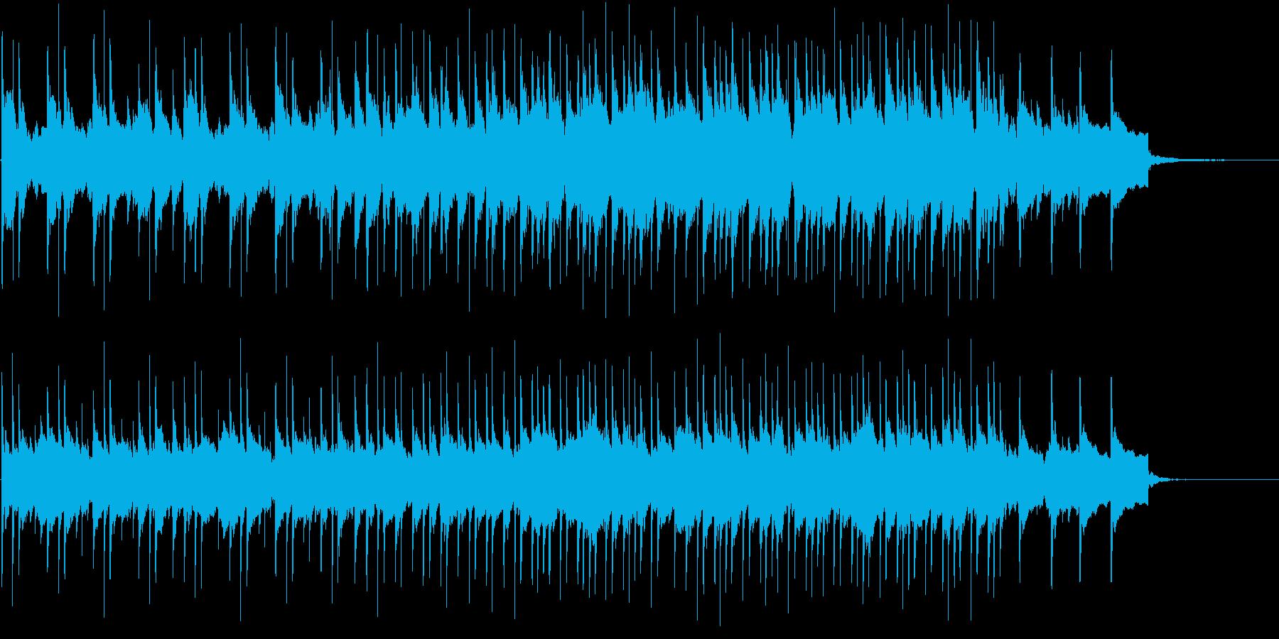 民族音楽っぽいBGM(H)の再生済みの波形