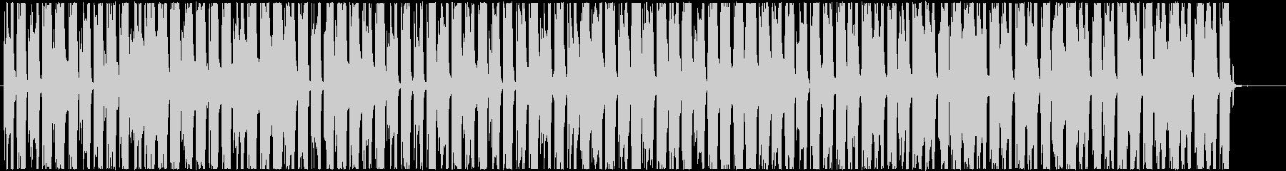 カフェにぴったりボサノバ・ジャズ風ギターの未再生の波形