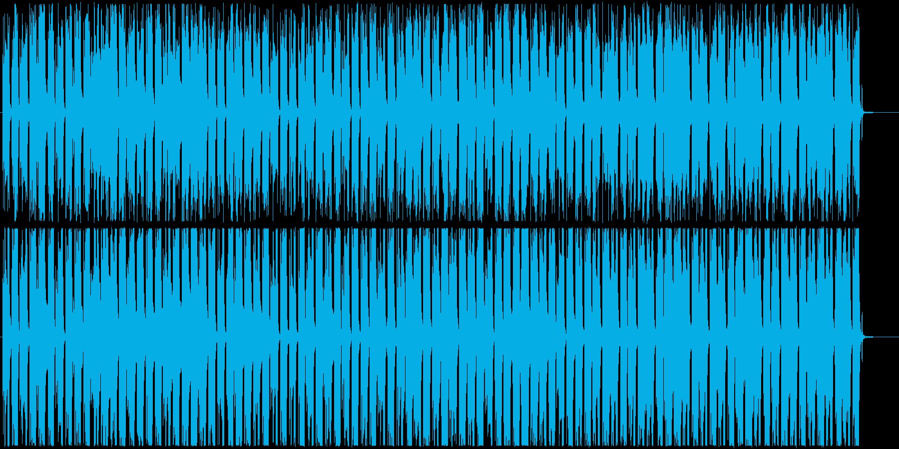 カフェにぴったりボサノバ・ジャズ風ギターの再生済みの波形