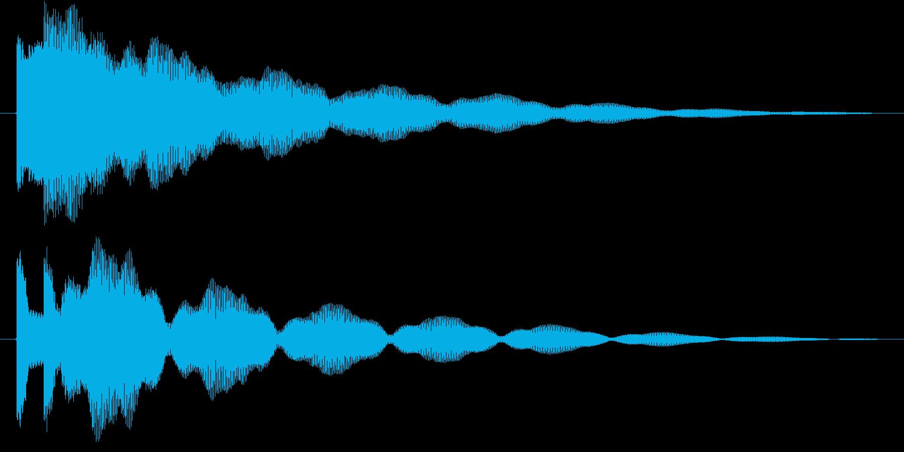 ティトーン(ベル)の再生済みの波形