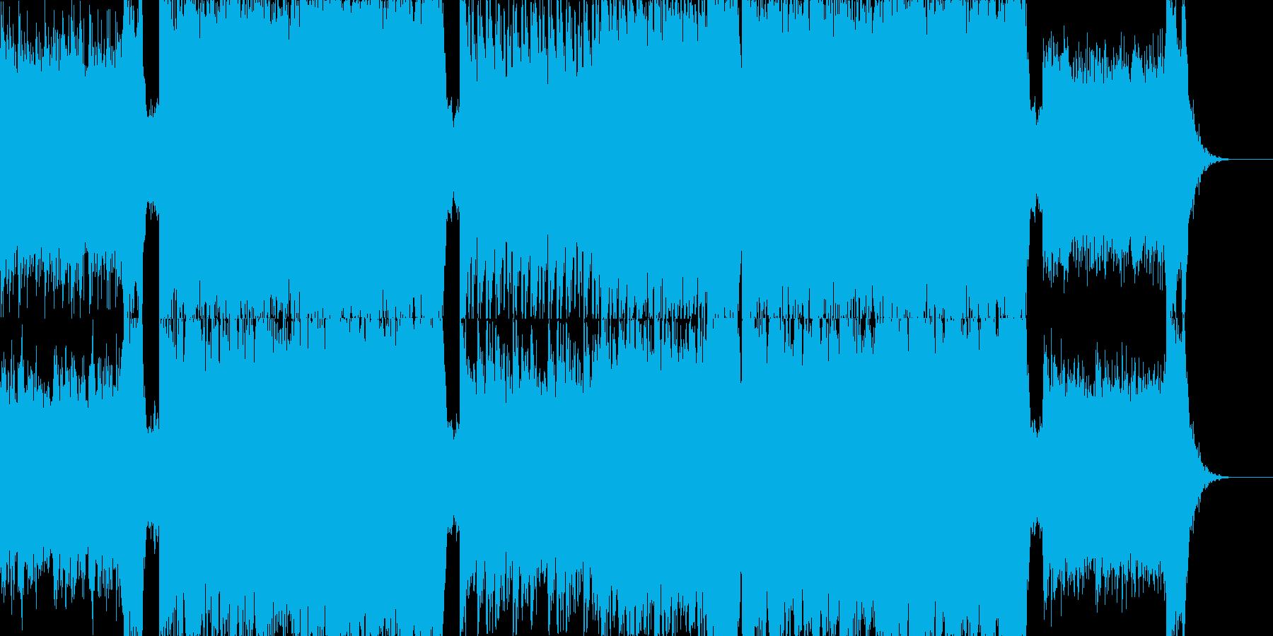 感動_神秘的_エンディングの再生済みの波形