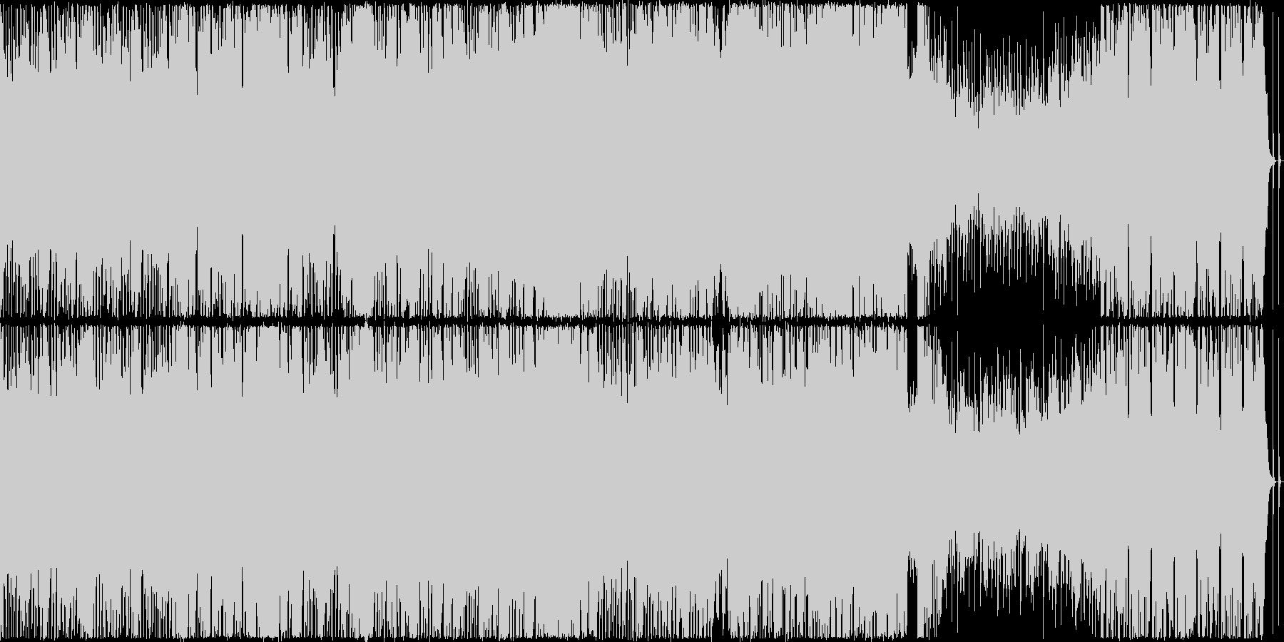 【ループ仕様】ドラムがパワフルなバトル曲の未再生の波形