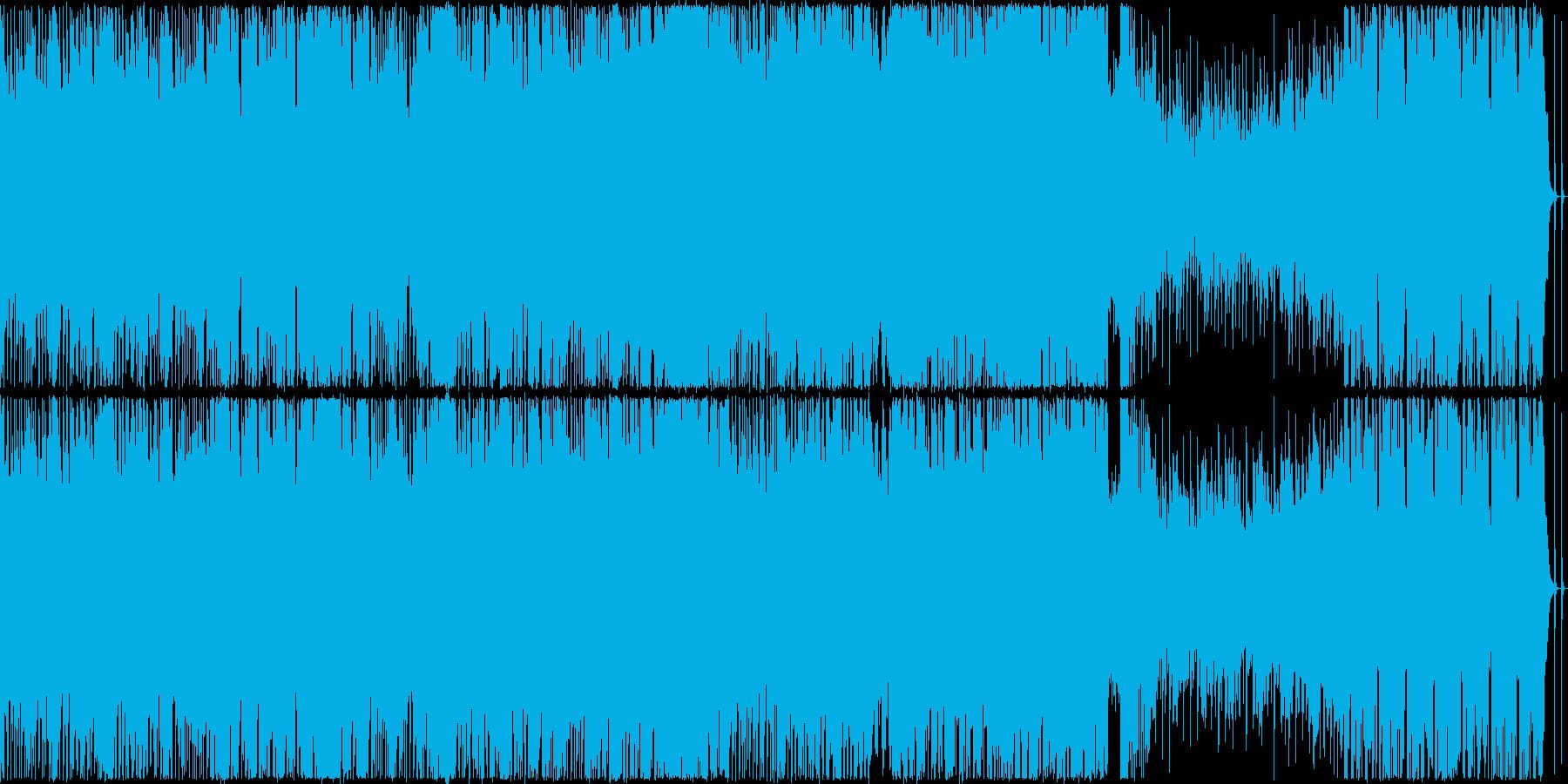 【ループ仕様】ドラムがパワフルなバトル曲の再生済みの波形