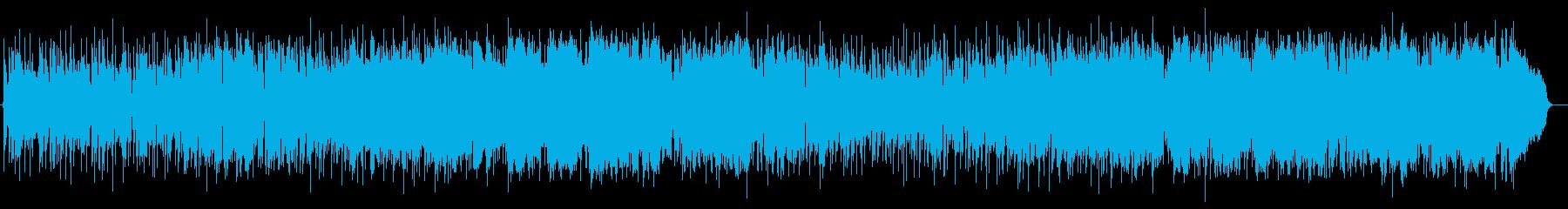 ミディアムテンポの爽やかなバラードの再生済みの波形