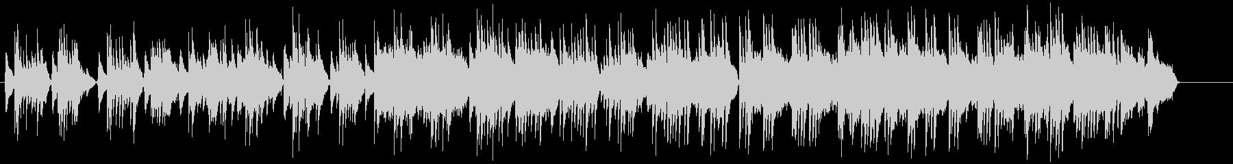 生ナイロンギターのしっとりしたバラードの未再生の波形