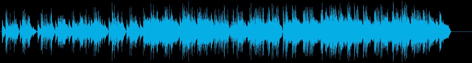 生ナイロンギターのしっとりしたバラードの再生済みの波形