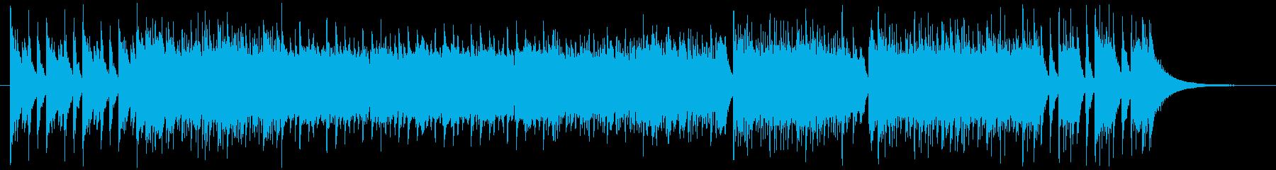 爽やかサーフミュージックの再生済みの波形