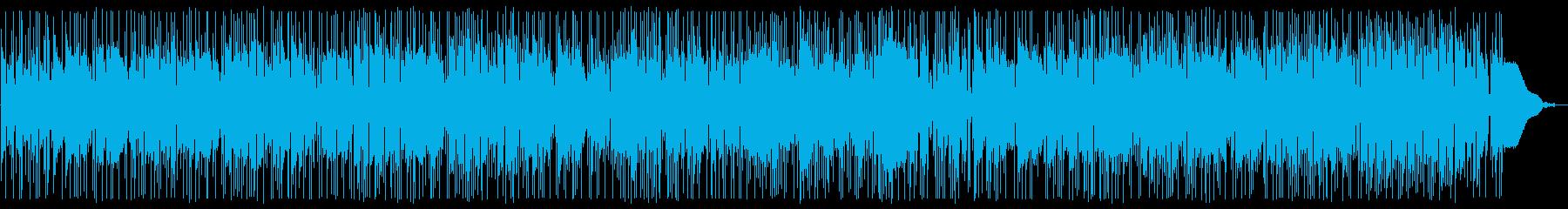 ギターデュオのヒーリングポップスの再生済みの波形