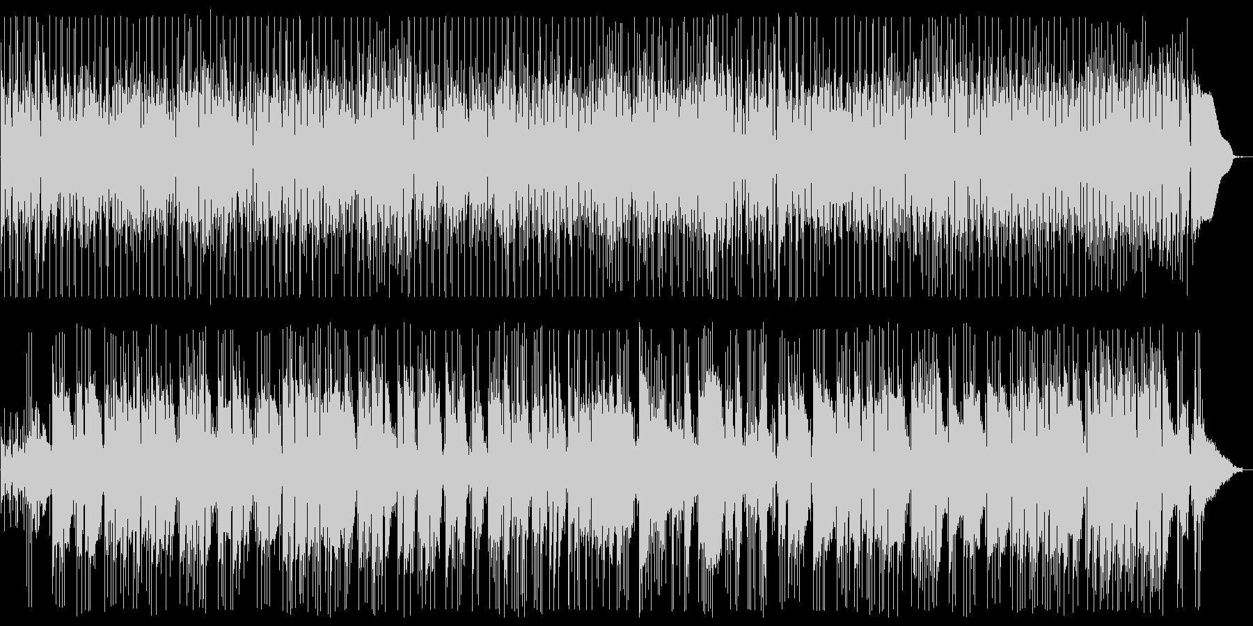 ギターデュオのヒーリングポップスの未再生の波形