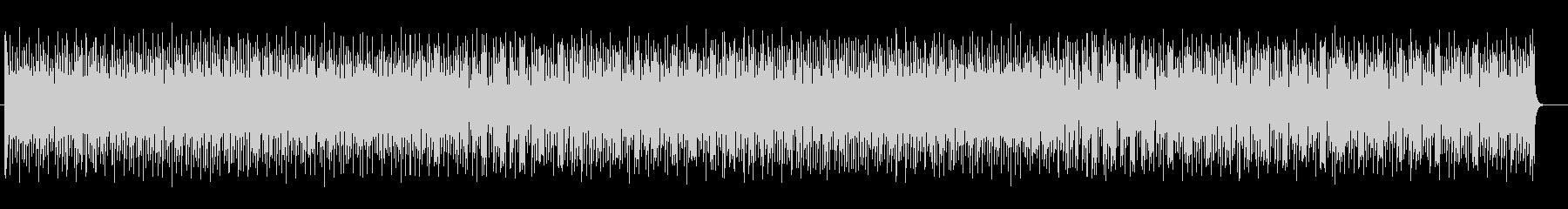 ピアノ中心の軽やかなジャズの未再生の波形
