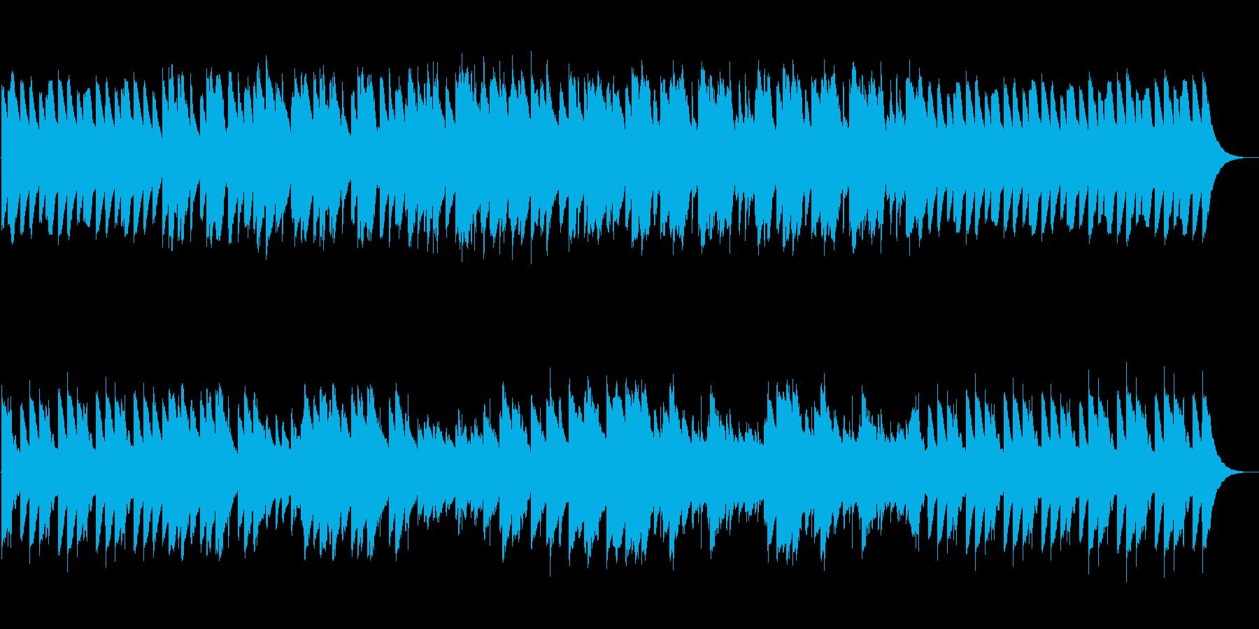 <オルゴール>優しい、ほんわか、懐かしいの再生済みの波形