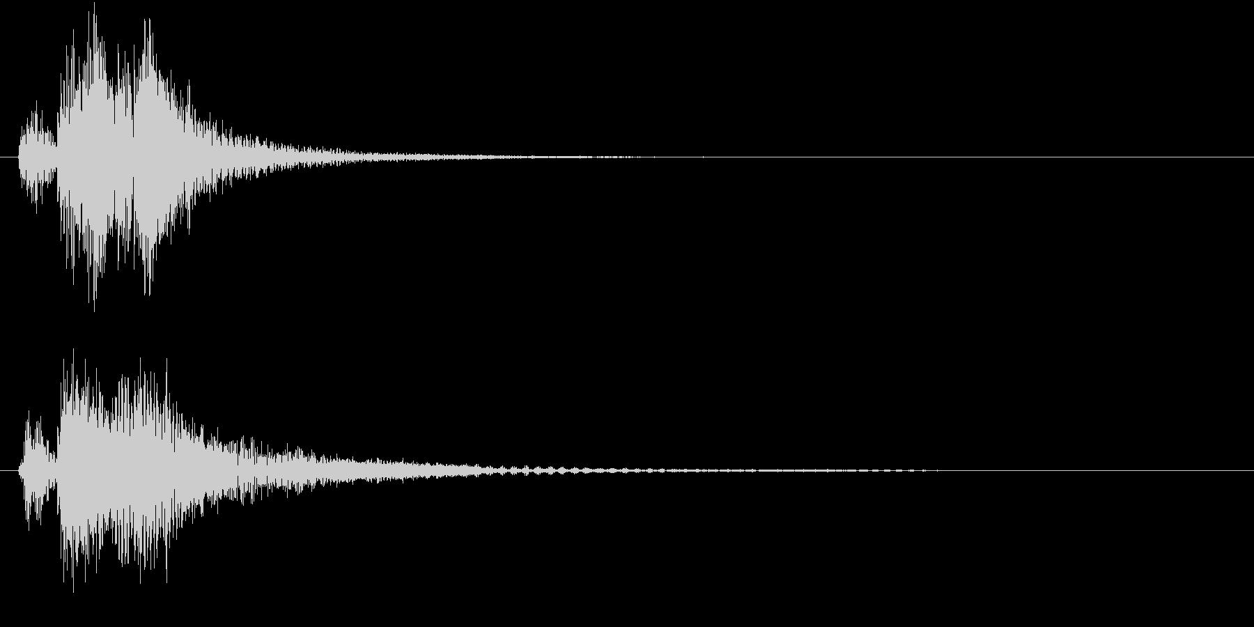 ベベン・ドドン(和風・場面転換)の未再生の波形