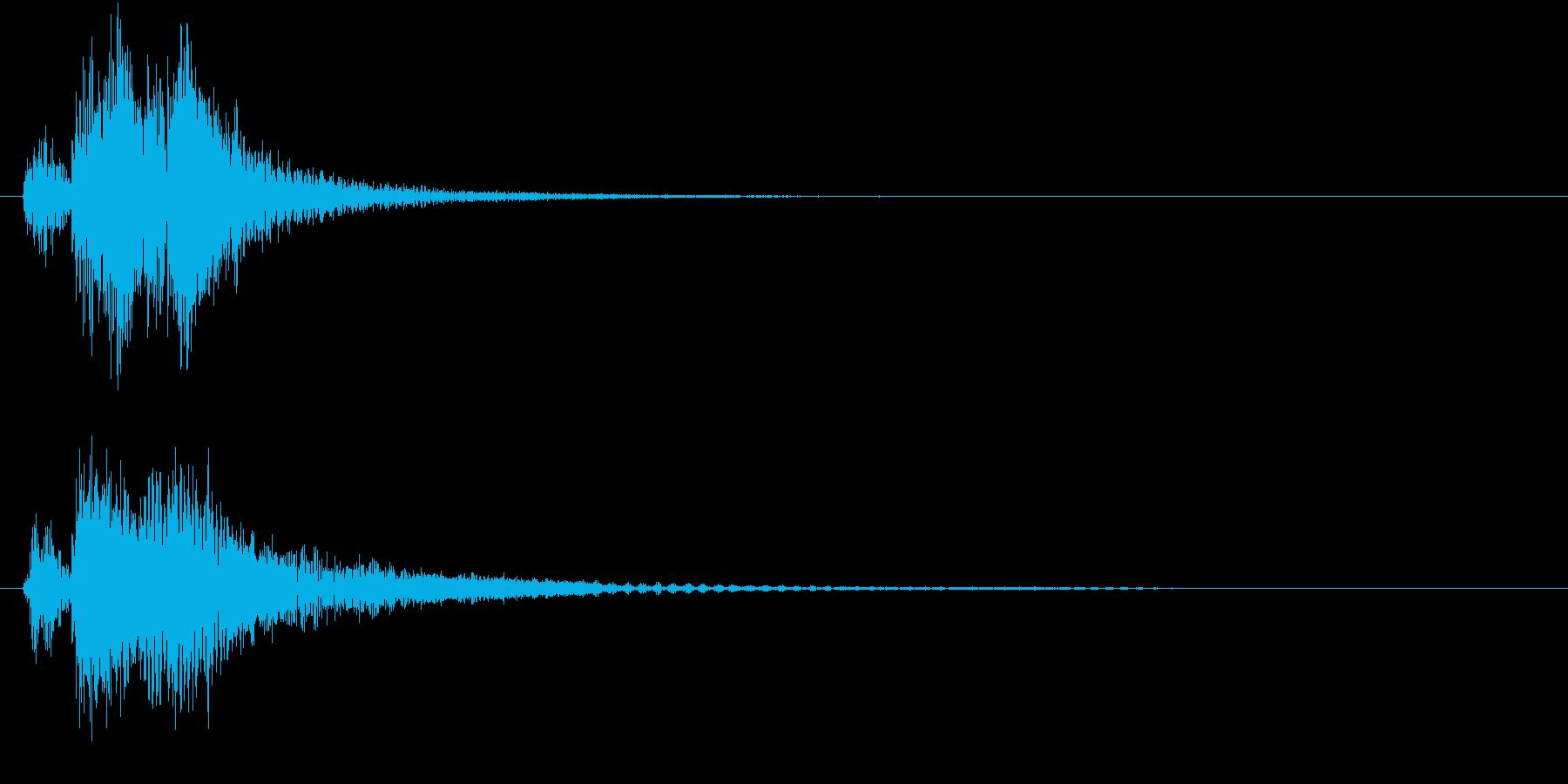 ベベン・ドドン(和風・場面転換)の再生済みの波形