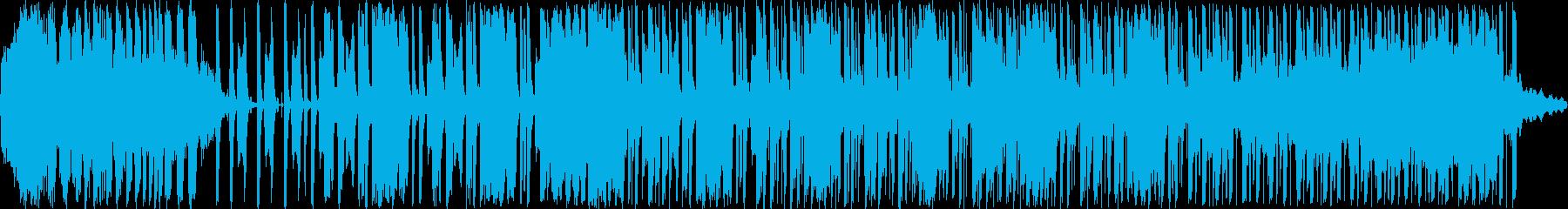 和楽器とテクノ系の楽器を混ぜたダンスミ…の再生済みの波形