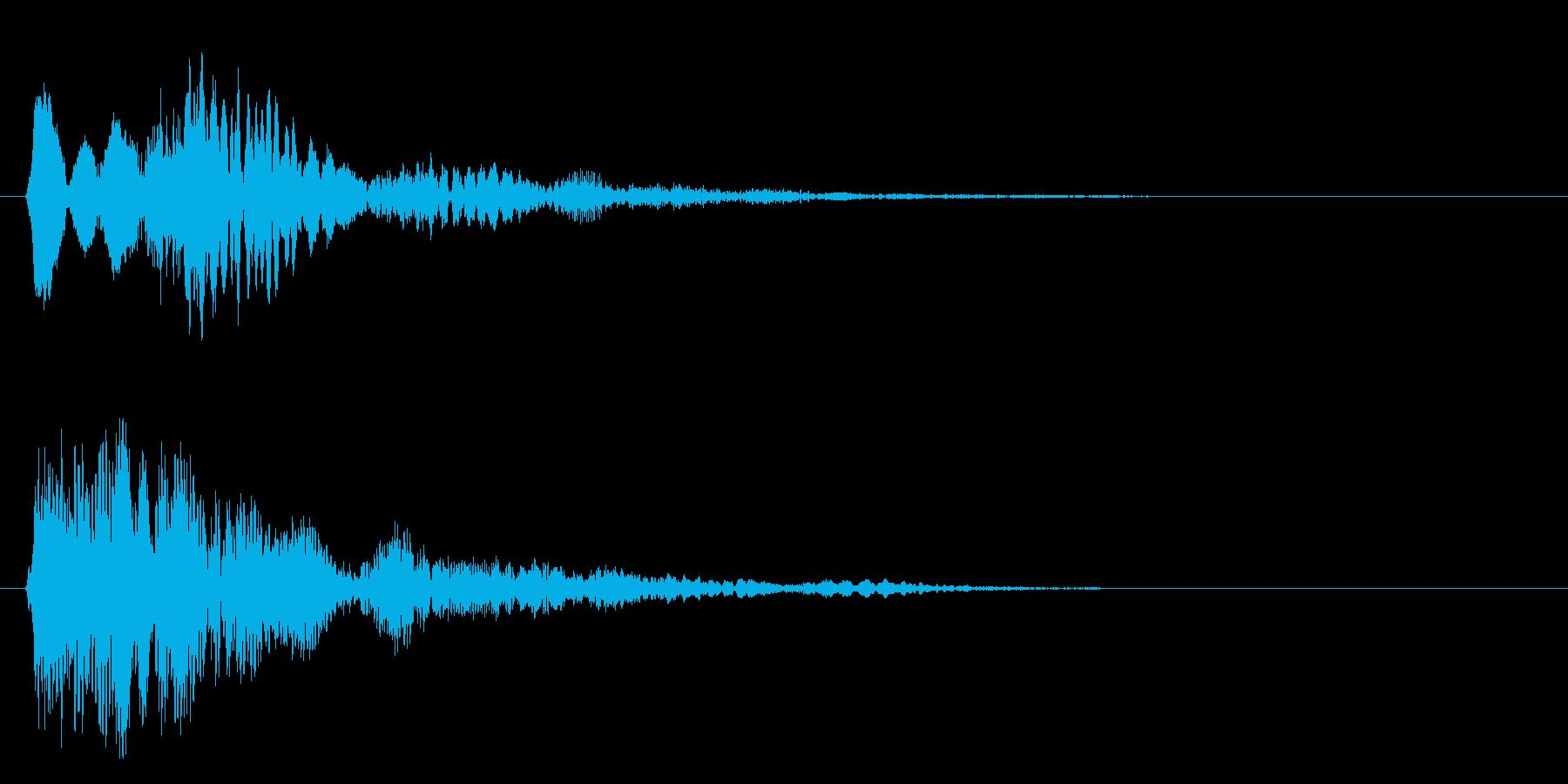 フワォ~~~・・・の再生済みの波形