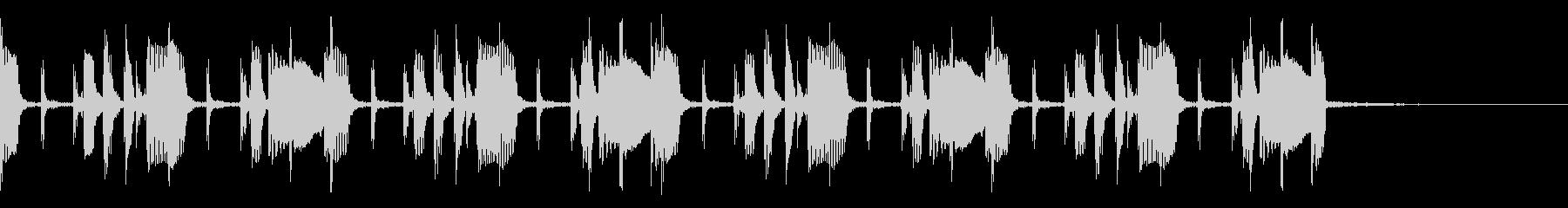 エレキベースのシンプルグルーヴ MCにの未再生の波形