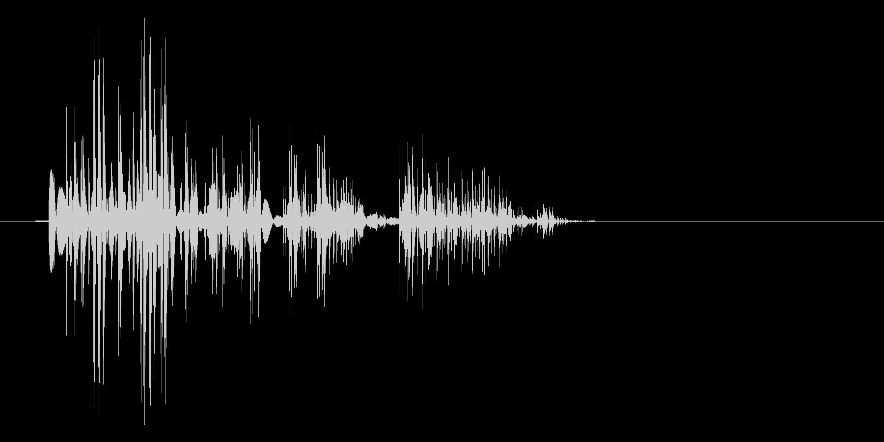 ゲーム(ファミコン風)爆発音_017の未再生の波形