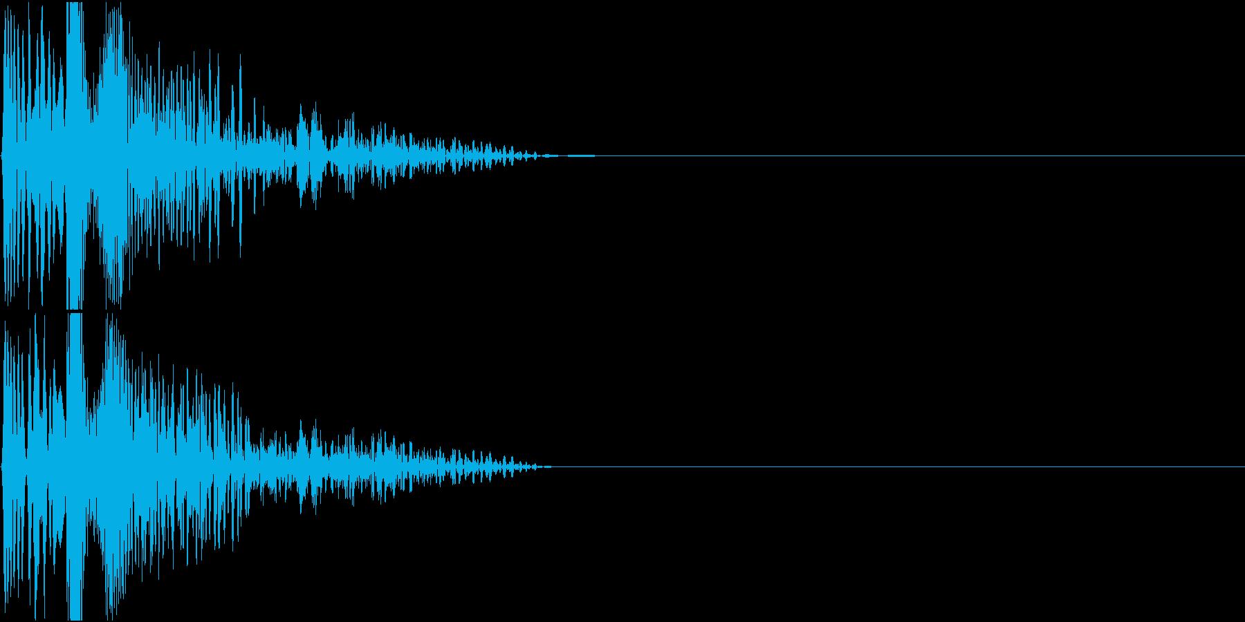 Invader インベーダーゲーム 銃の再生済みの波形