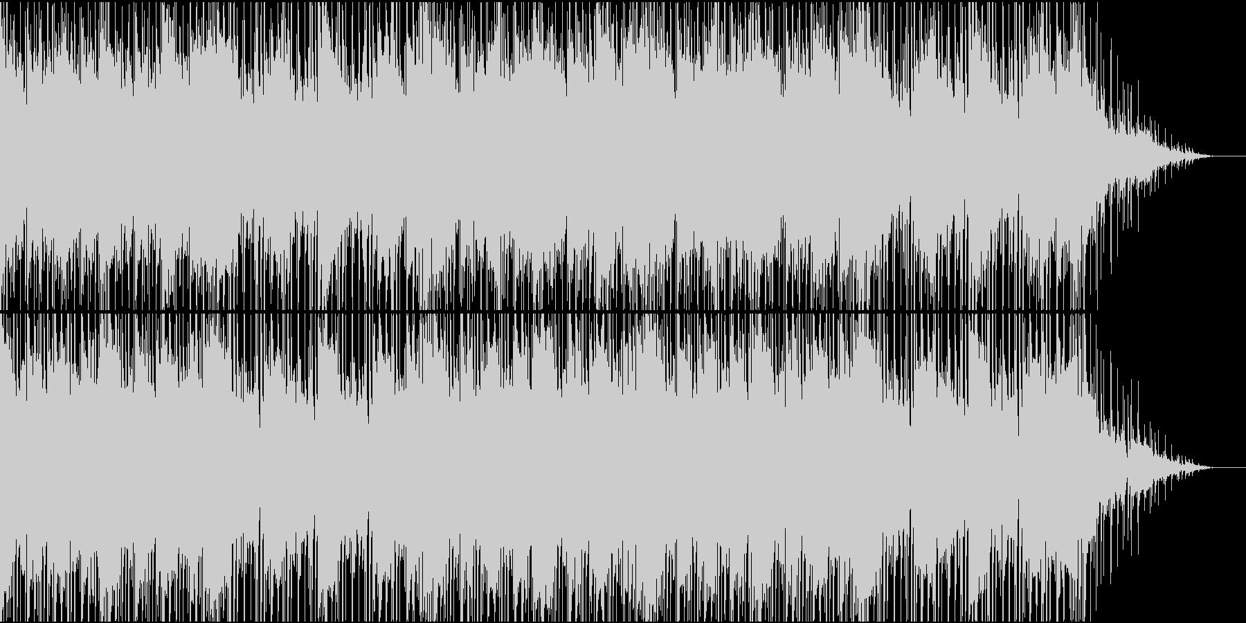 哀愁漂うエレクトロニカの未再生の波形