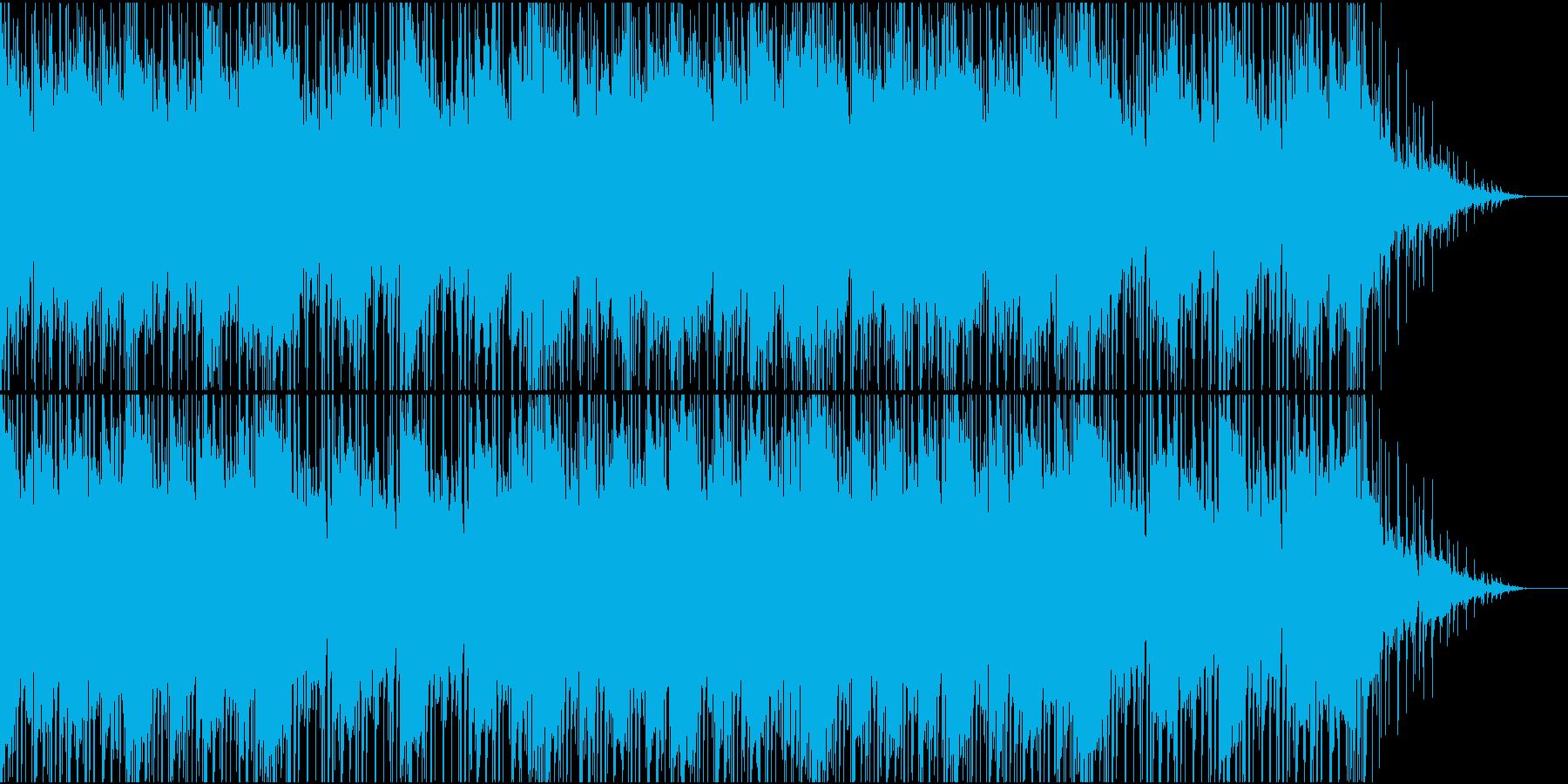哀愁漂うエレクトロニカの再生済みの波形