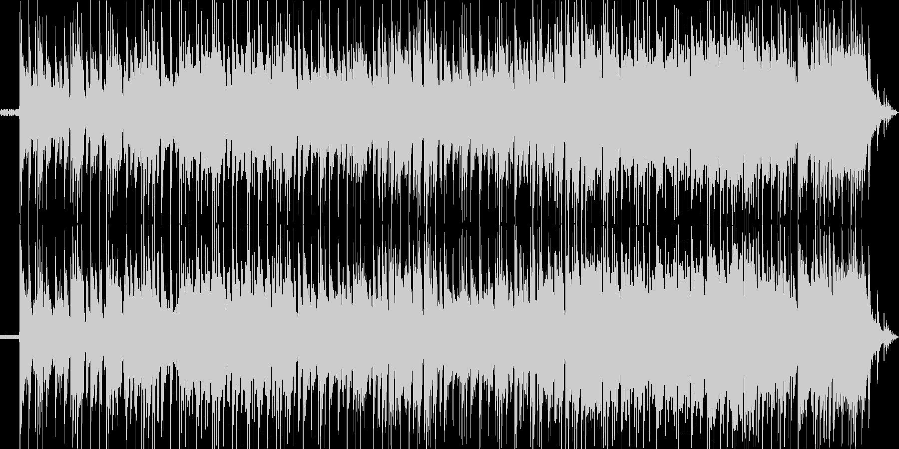 ローファイ感を出したスタイリッシュで哀…の未再生の波形
