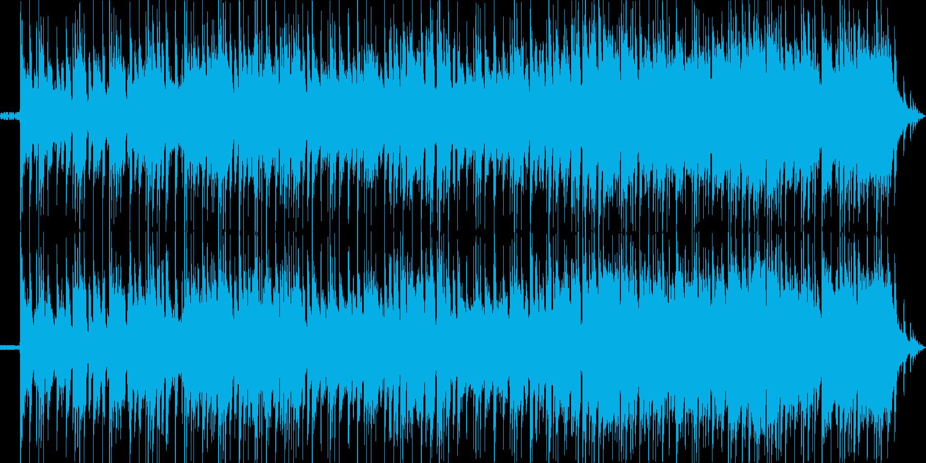 ローファイ感を出したスタイリッシュで哀…の再生済みの波形