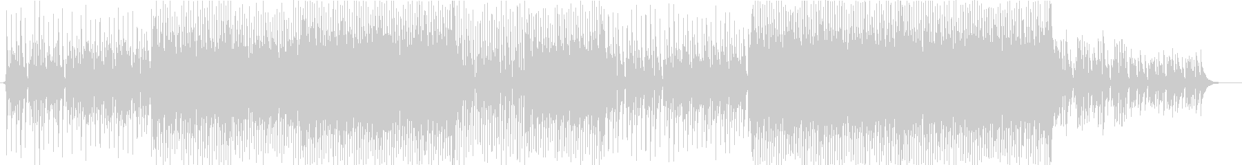 ほのぼの明るいポップなウクレレの未再生の波形