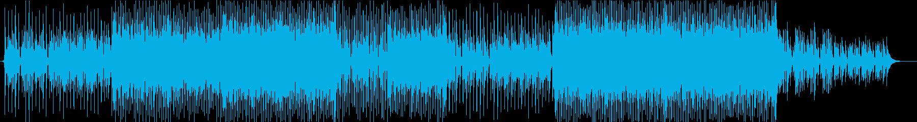 ほのぼの明るいポップなウクレレの再生済みの波形