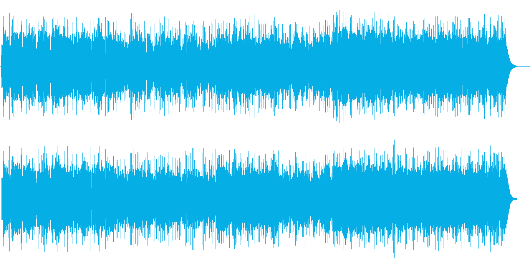 乾いた風のブルージーなアメリカンロックの再生済みの波形